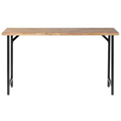 5.5 ft. Rubber Wood Top Workbench