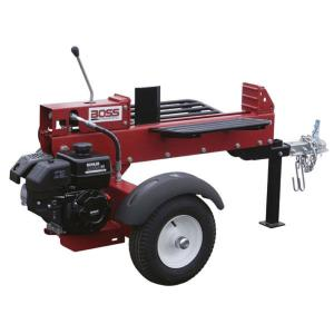 Click here to buy Boss Industrial 16-Ton 196cc Gas Log Splitter by Boss Industrial.
