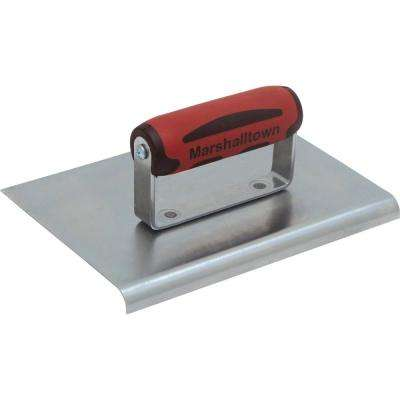8 in. x 6 in. Carbon Steel Edger with 3/8 in. R