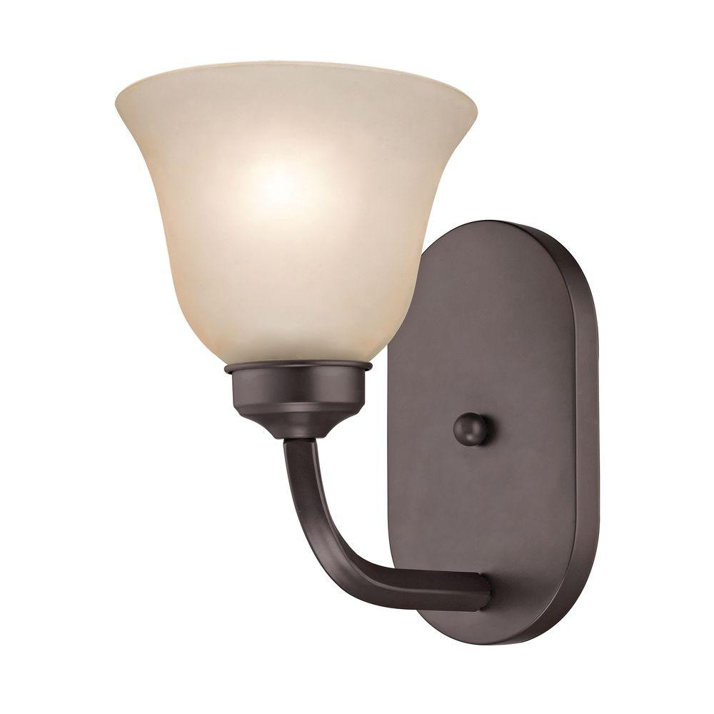 Titan Lighting Santa Fe 1 Light Oil Rubbed Bronze Sconce