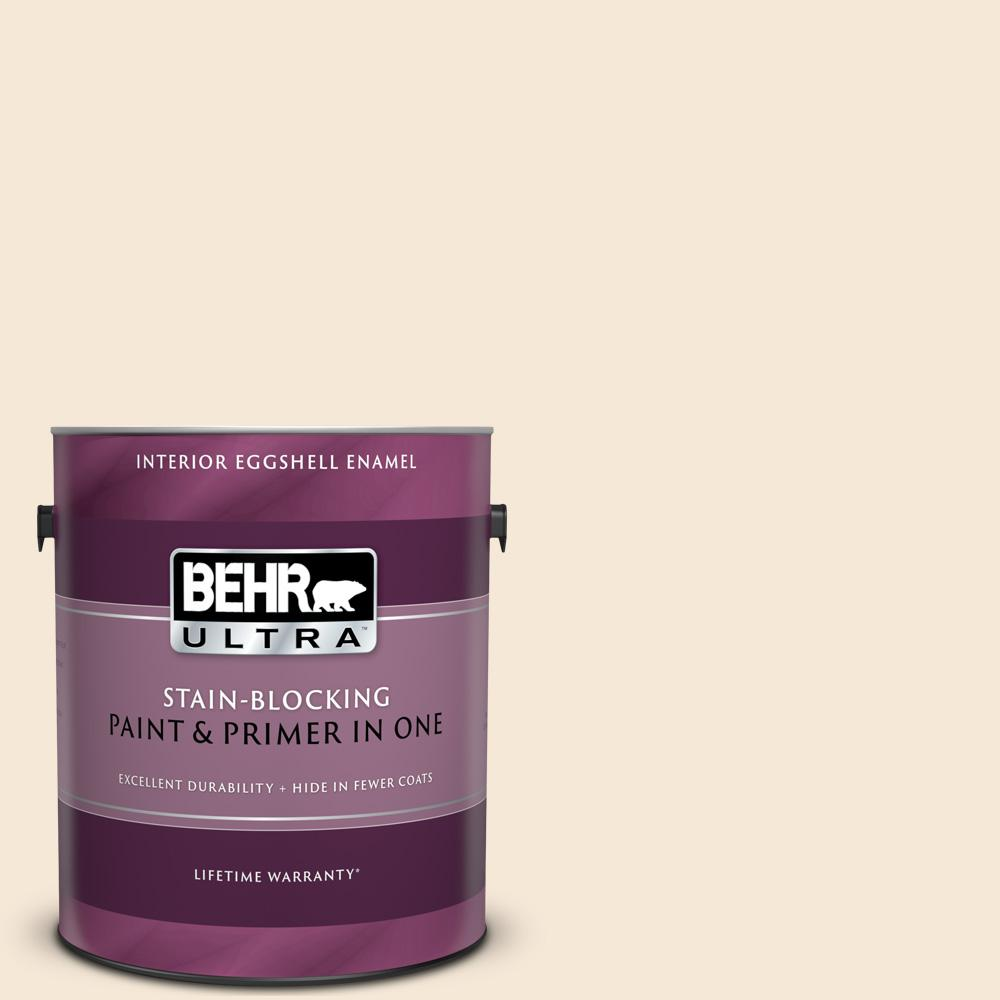 Behr Ultra 1 Gal Bxc 14 Water Chestnut Eggshell Enamel Interior Paint And Primer In One 275001 The Home Depot