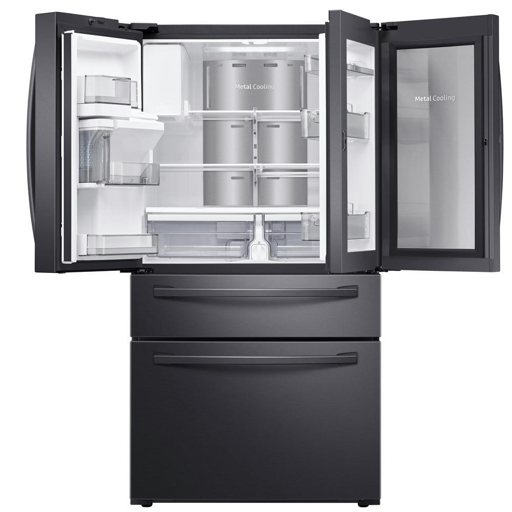 Samsung 27 8 Cu Ft Food Showcase 4 Door French Door Refrigerator