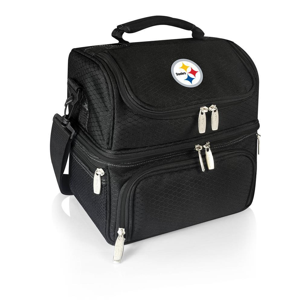 Pranzo Black Pittsburgh Steelers Lunch Bag