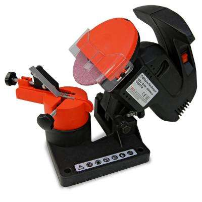 7,500 RPM Portable Mini Electric Chainsaw Sharpener with Safety Guard