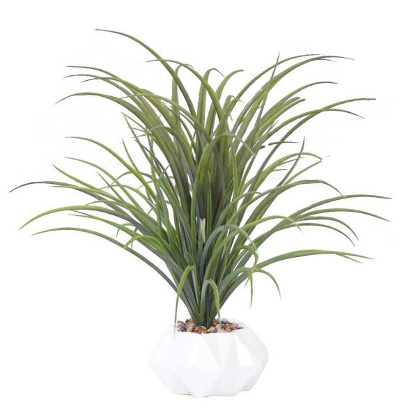 Laura Ashley 22 in. Tall Plastic Grass Artificial Indoor/ Outdoor Faux
