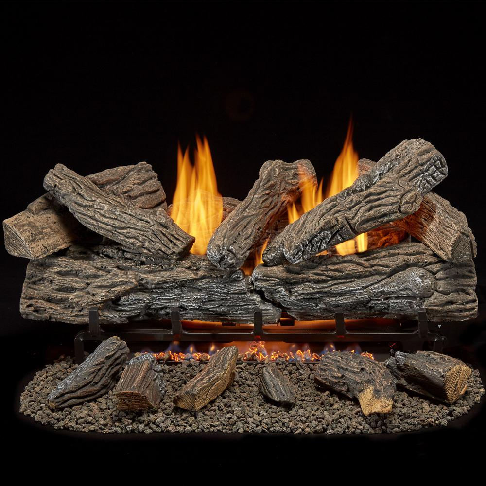 15 Gas Fire Replacement Coals Ceramic Small Size