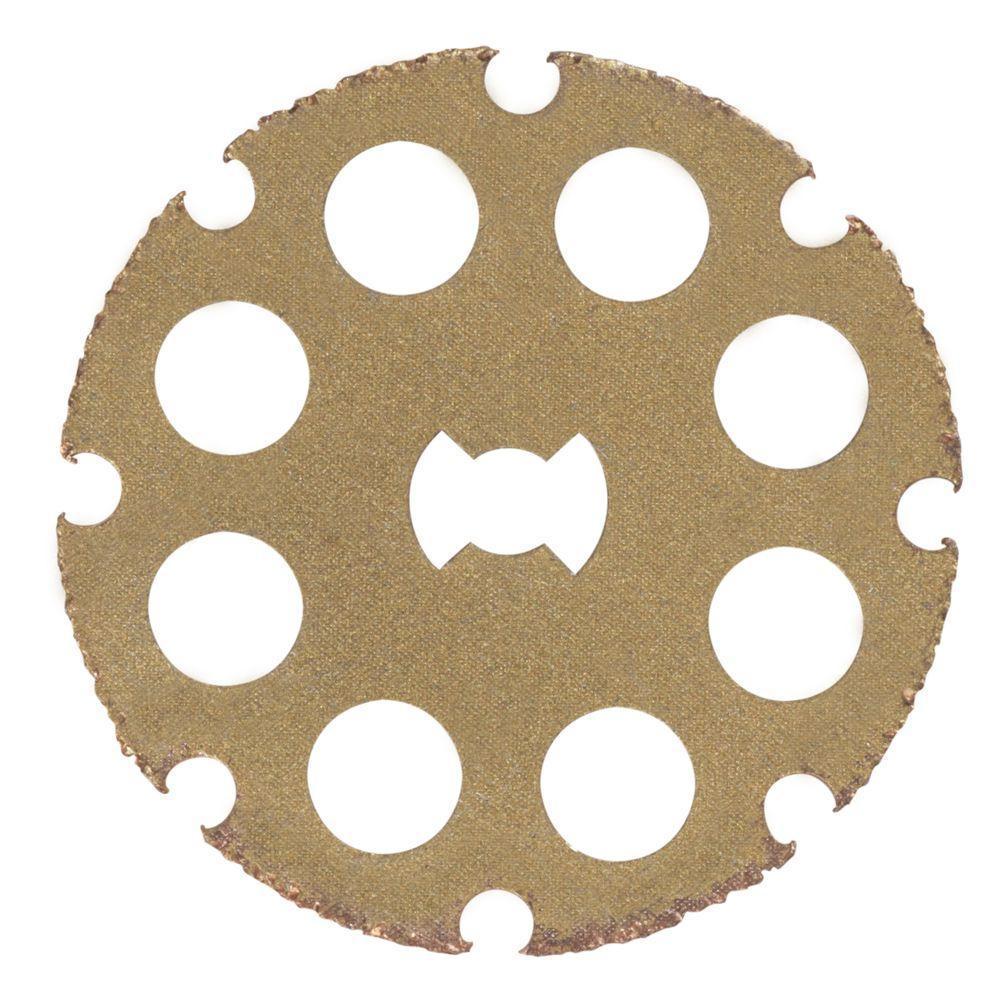 Dremel EZ Lock 1-1/2 in  Wood Cutting Rotary Wheel