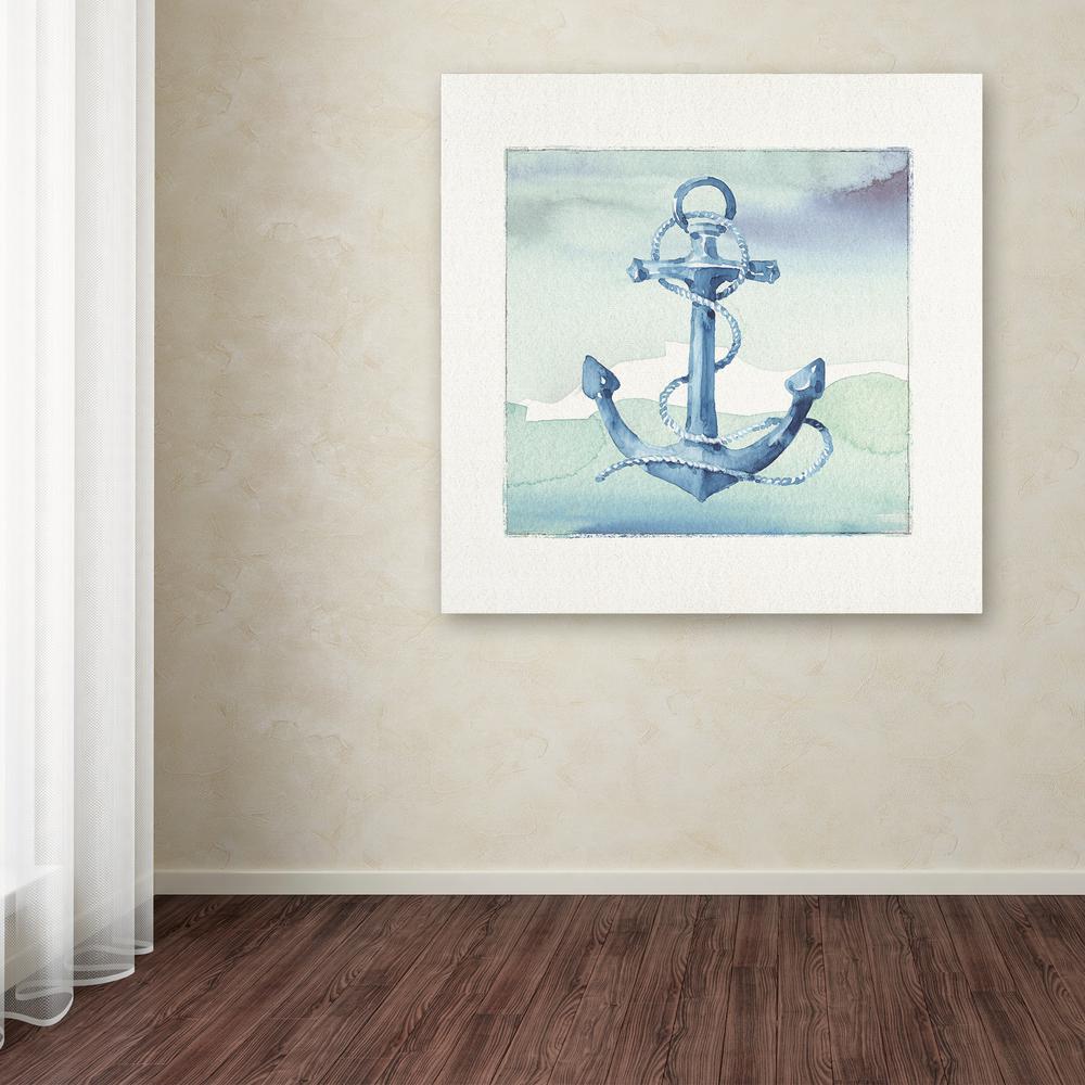 "14 in. x 14 in. ""Sea Life II"" by Lisa Audit Printed Canvas Wall Art"