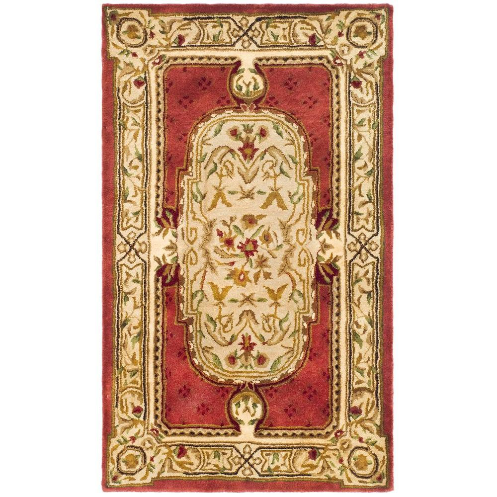 Safavieh Classic Burgundy 4 ft. x 6 ft. Area Rug