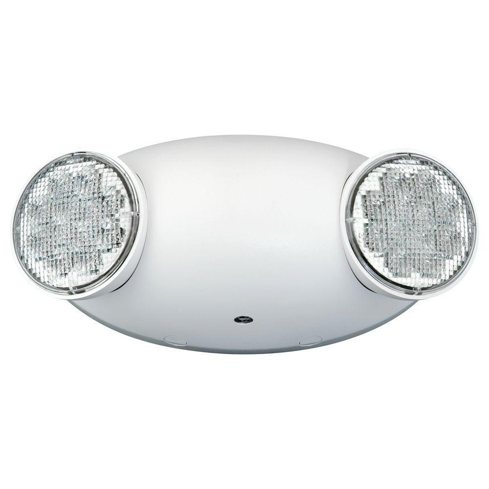 2-Light Thermoplastic LED Emergency Unit