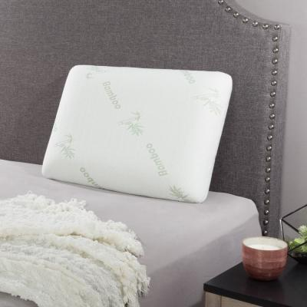 memory foam bed pillows bedding bath the home depot rh homedepot com