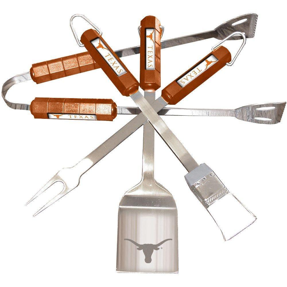 NCAA Texas Longhorns 4-Piece Grill Tool Set