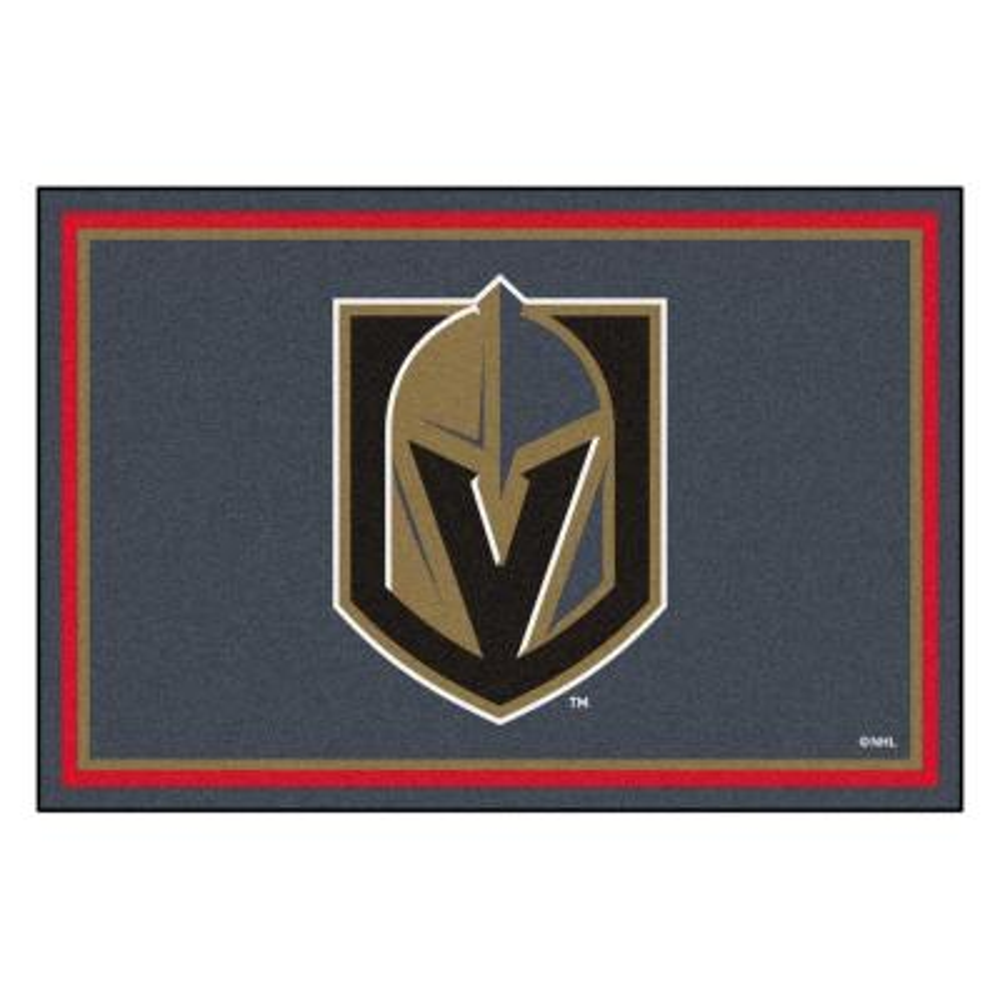 NHL - Vegas Golden Knights 5 ft. x 8 ft. Ultra Plush Area Rug
