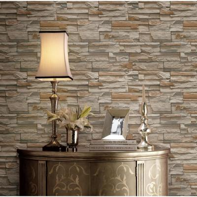 Natural Elements Flat Stone Wallpaper