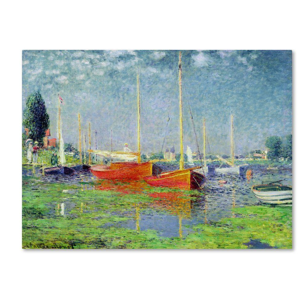 35 in. x 47 in. Argenteuil Canvas Art