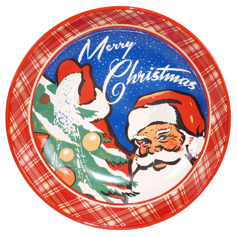 Certified International The Retro Christmas Serving and Pasta Bowl ...