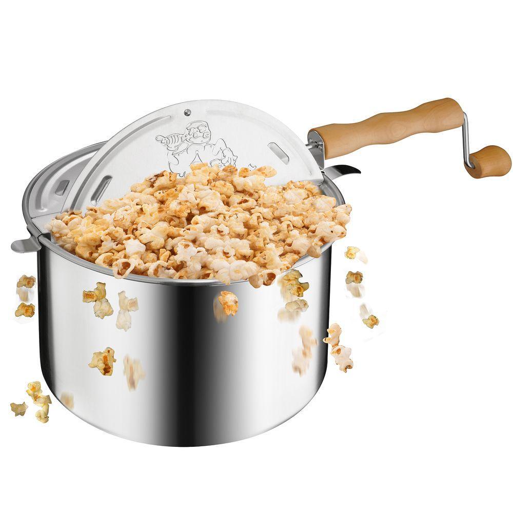 Popcorn Original Spinner Stovetop 6-1/2 Qt. Popcorn Popper