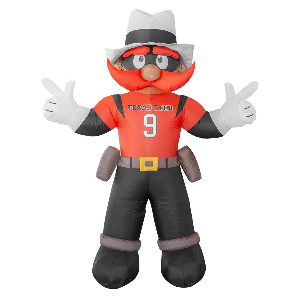 7 ft  Texas Tech Red Raiders Inflatable Mascot