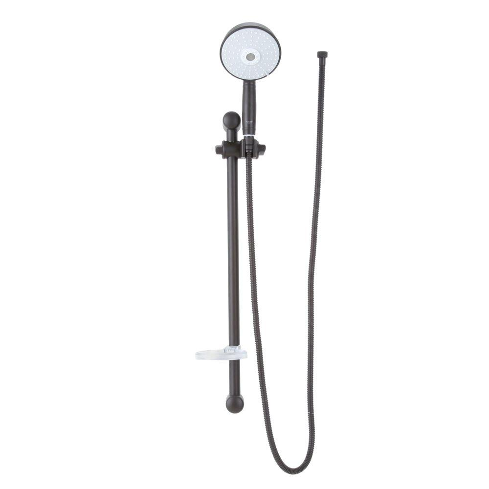 3-Spray Rustic Hand Shower in Oil Rubbed Bronze