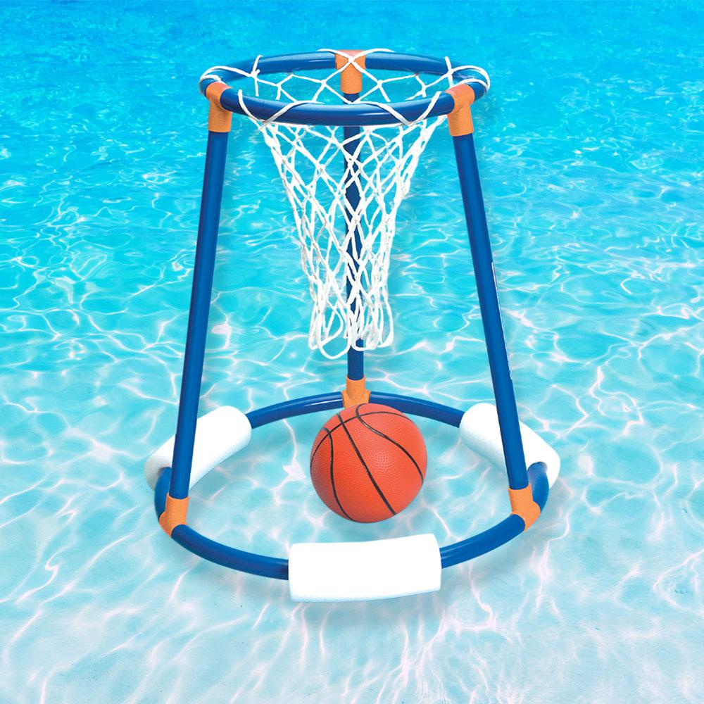 Swimline tall boy floating water basketball game 9165 for Pool floats design raises questions