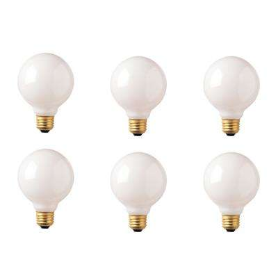 40-Watt G30 White Dimmable Warm White Light Incandescent Light Bulb (12-Pack)