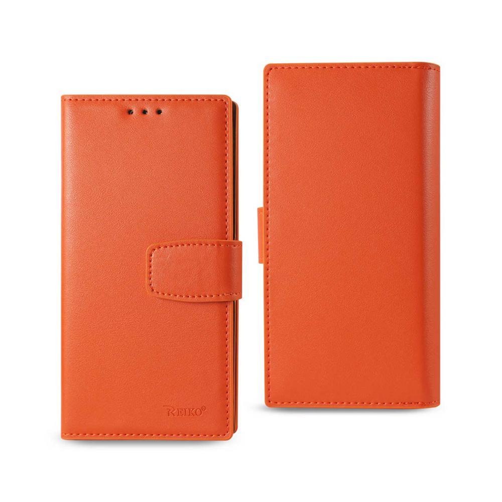 Galaxy S7 Edge Genuine Leather Design Case in Tangerine