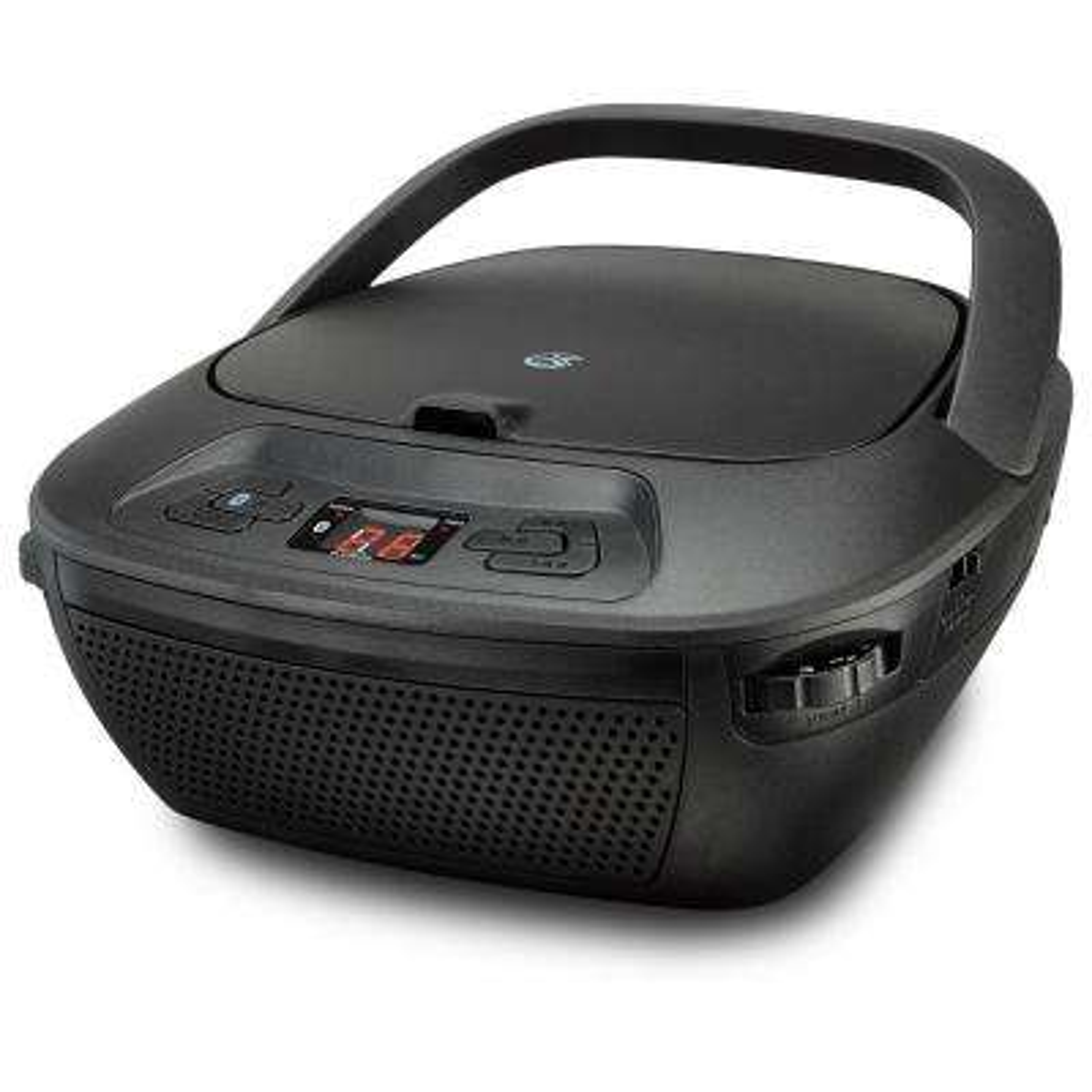 Portable Bluetooth Boom Box with CD, AM/FM