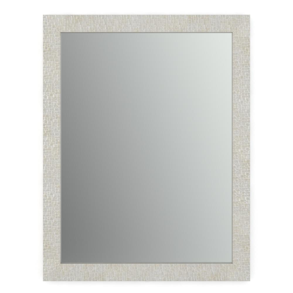 Delta 21 in. x 28 in. (S1) Rectangular Framed Mirror with Standard ...