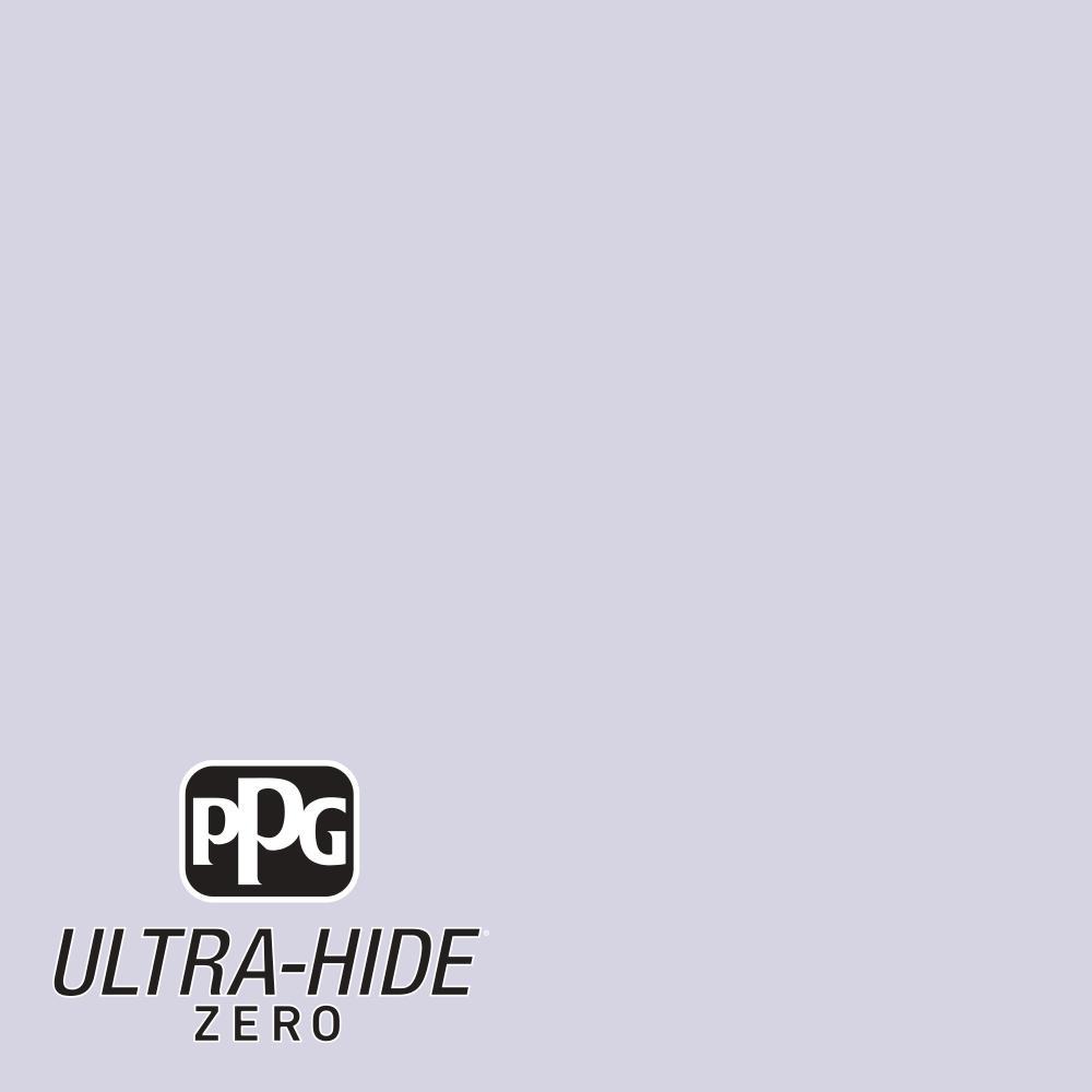 PPG 5 gal. #HDPV48 Ultra-Hide Zero Lavender Cloud Flat Interior Paint