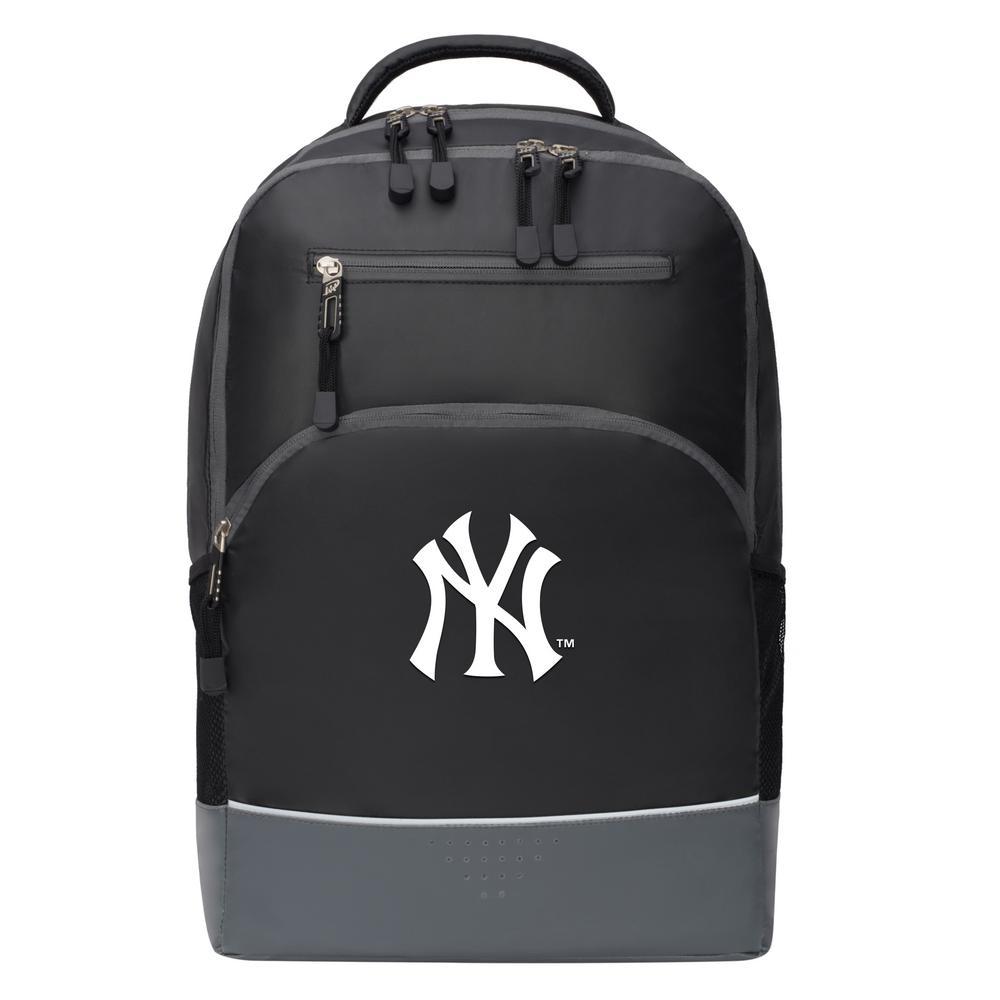 Yankees 19 in. Black Alliance Backpack