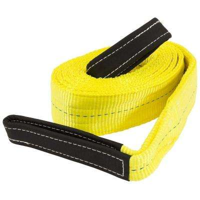 4 in. x 16 ft. 2 Ply Flat Loop Polyester Lift Sling