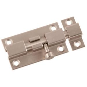 Satin Nickel Barrel Door Bolt