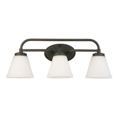 Mayview 3-Light Matte Bronze Bath Light