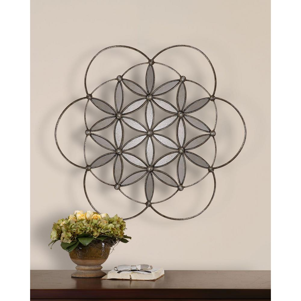 Global Direct 31 in. x 31 in. Baiano Wall Art