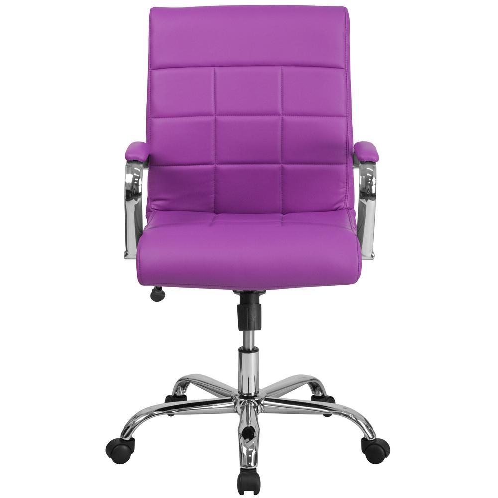 Brilliant Flash Furniture Purple Office Desk Chair Go2240Pur The Cjindustries Chair Design For Home Cjindustriesco