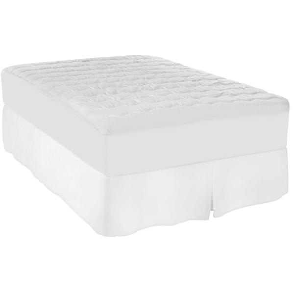 Sealy Twin 100% Cotton Moisture Wicking and Stain Release Mattress Pad