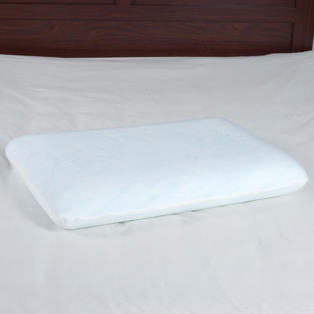 Blue Memory Foam Classic Bedroom Pillow