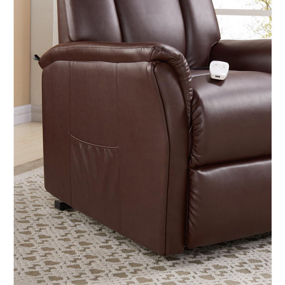 Marvelous Serta Worcherster Power Recliner Lift Chair In Cognac Sl Short Links Chair Design For Home Short Linksinfo