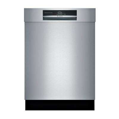800 Series Front Control Tall Tub Smart Dishwasher in Stainless Steel with Stainless Steel Tub and Home Connect, 42dBA