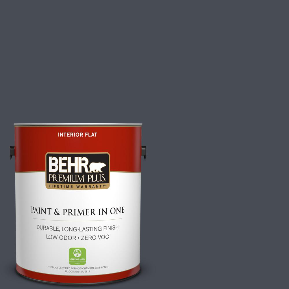 1 gal. #PPU15-20 Poppy Seed Zero VOC Flat Interior Paint