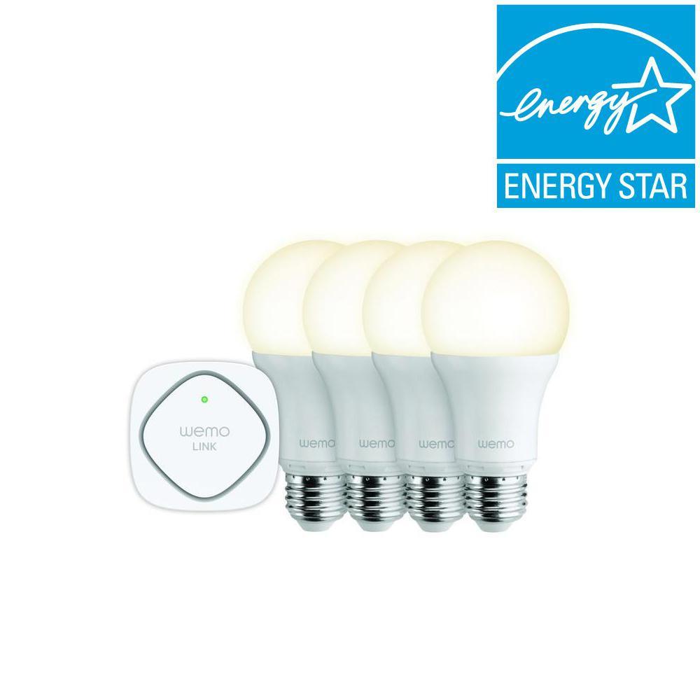 Belkin WeMo LED LIGHTING STARTER KIT with 2 Extra Bulbs