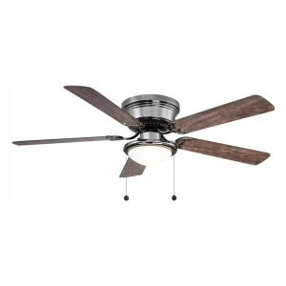 Deals on Hugger 52 in. LED Gunmetal Ceiling Fan