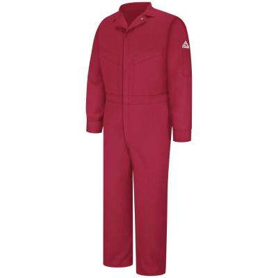EXCEL FR ComforTouch Men's Size 42 (Tall) Red Deluxe Coverall