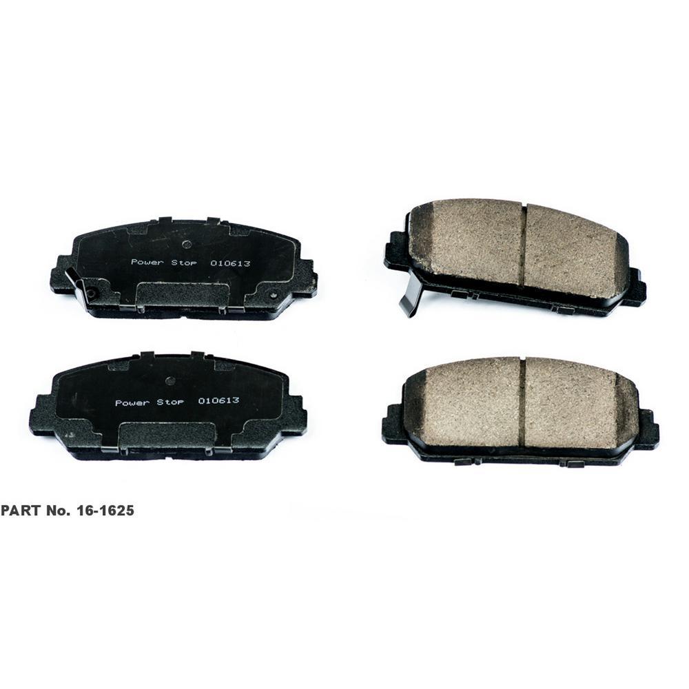 Front Evolution Ceramic Disc Brake Pad fits 2013 Acura RDX