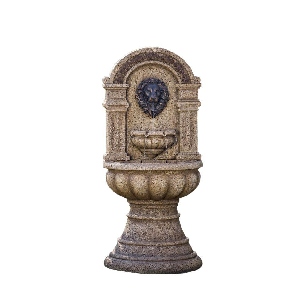Jeco Classic Lion Head Wall Water Fountain