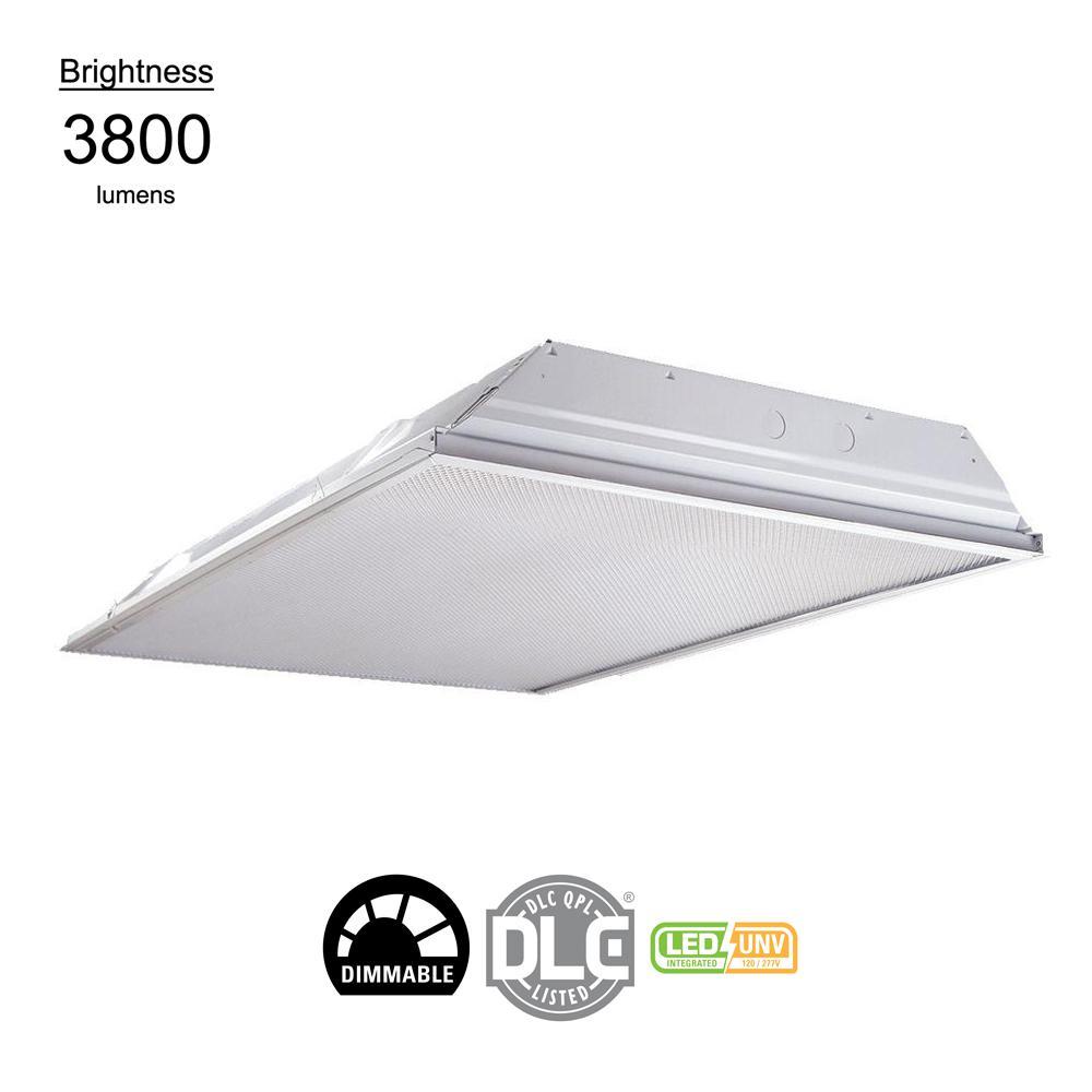 LIGHT TROFFER LED 3800L 2X4FT