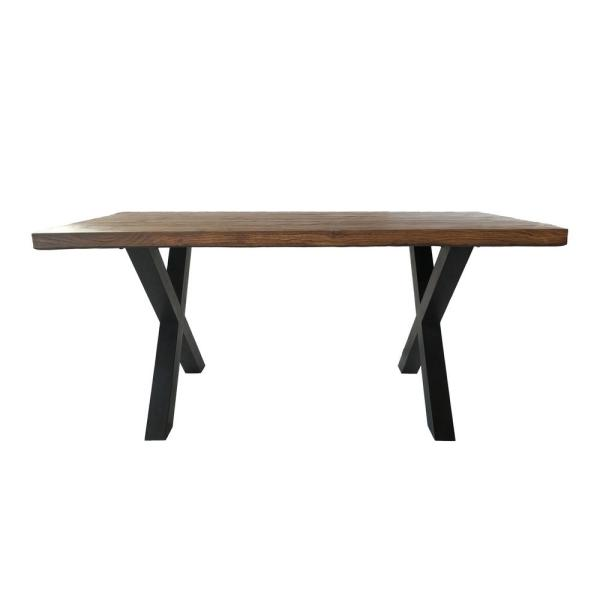 Islamorada Brown Walnut Stone Outdoor Dining Table