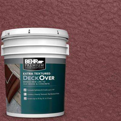 5 gal. #PFC-04 Tile Red Extra Textured Wood and Concrete Coating