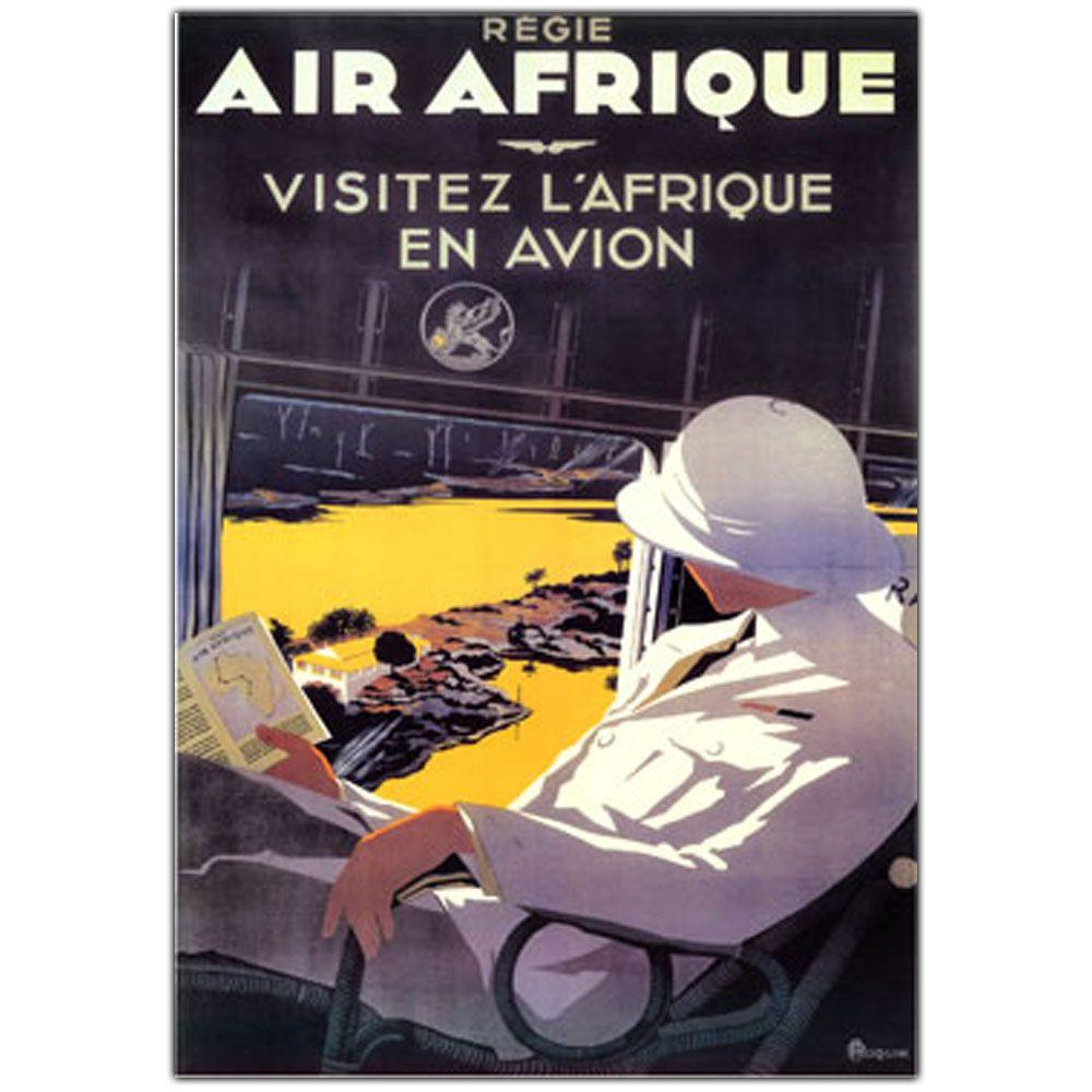 18 in. x 24 in. Air Afrique Canvas Art