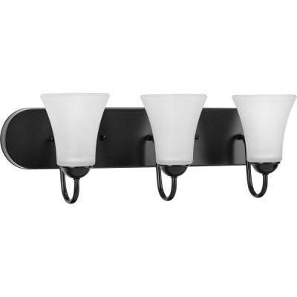 Classic 6-Light Black Bath Light